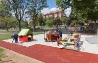 Comienza la instalación de ocho zonas de juego infantil adaptadas e inclusivas
