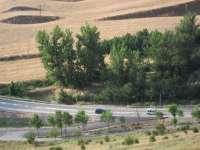 Las asociaciones de la construcción de Huesca desean participar en las actuaciones en la red autonómica de carreteras