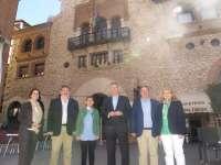 Blasco (PP) promete rehabilitar el Teatro Marín