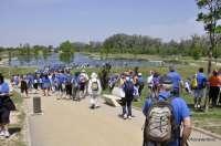 Más de 250 personas participan en la VI Andada de la UZ