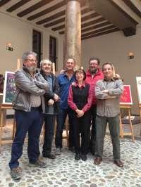 Ebrópolis edita la colección de serigrafías 'Seis miradas de Zaragoza' de artistas aragoneses