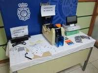 Zaragoza.- Sucesos.- Detenido por falsificación y utilización fraudulenta de tarjetas de crédito