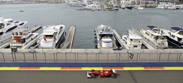Calentando motores en Valencia