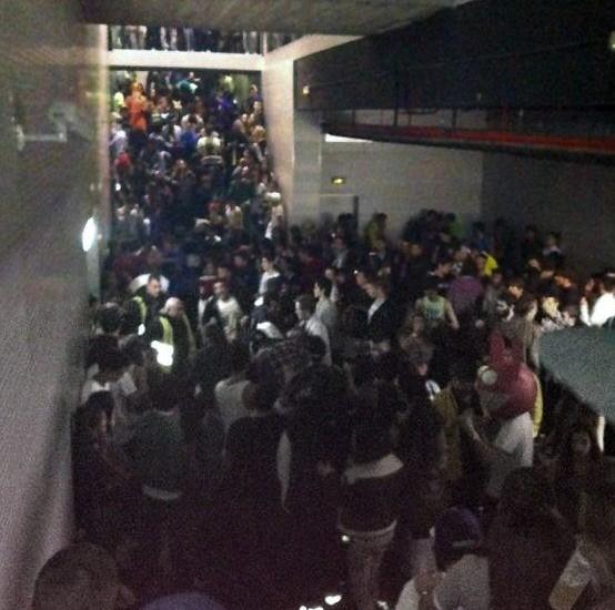 Tragedia en el Madrid Arena