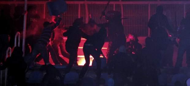 Incidentes en el Euskadi-Bolivia