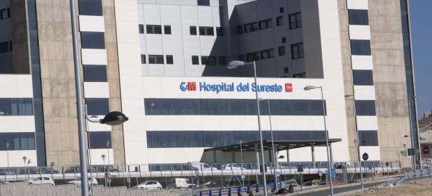 Hospital de Arganda, en Madrid