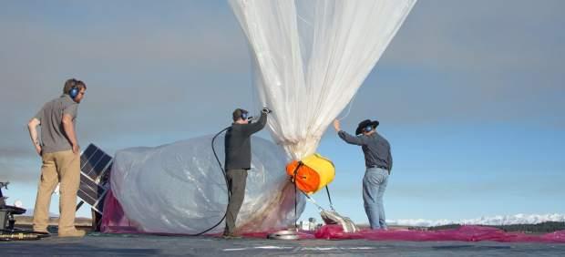 Globo de helio. Fuente: 20 minutos