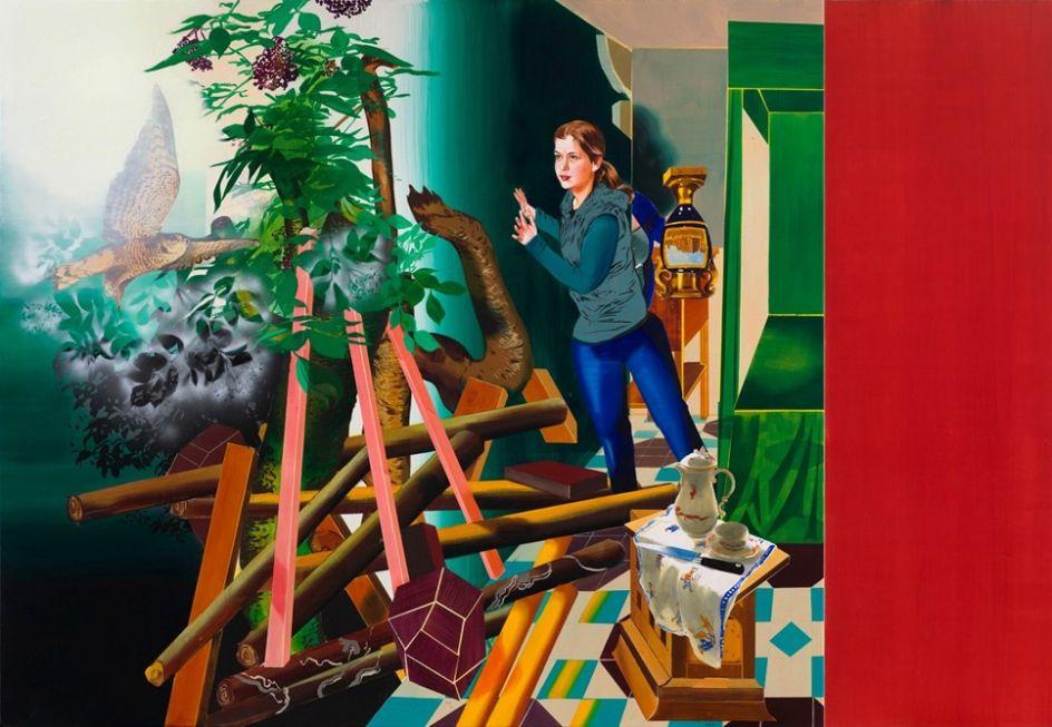 Una de las obras de Susanne Kühn
