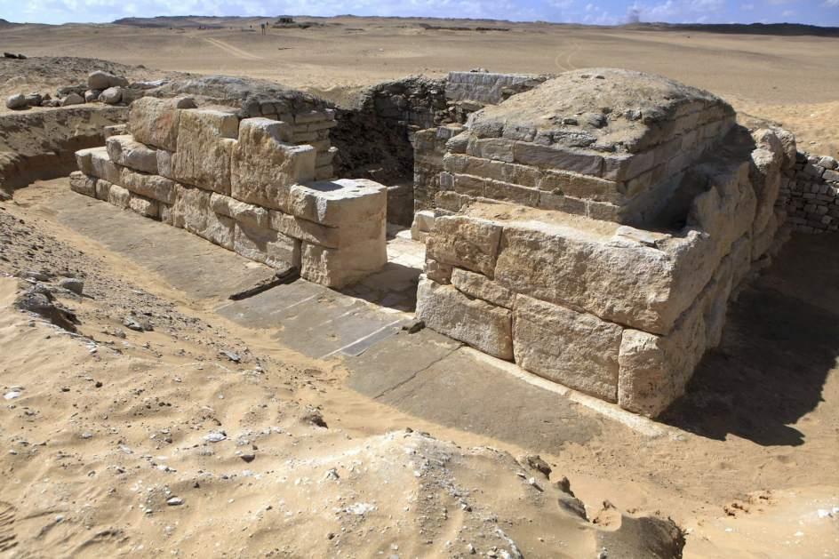 Tumba de una reina de la V dinastía faraónica