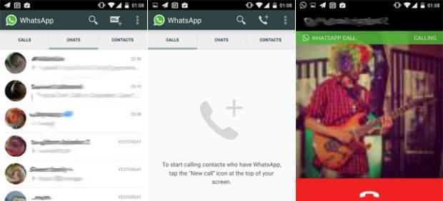 Llamadas desde WhatsApp