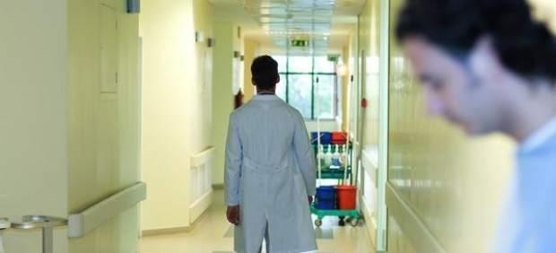 Doctor en un hospital