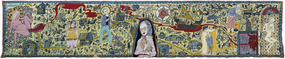 Grayson Perry - The Walthamstow Tapestry, 2009</p><br /> <p>