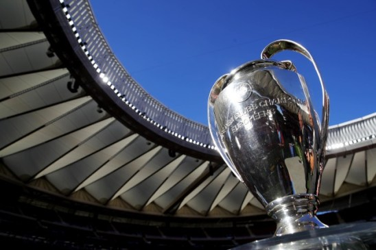 Champions League trophy (Photo by Alexander Hassenstein - UEFA/UEFA via Getty Images)