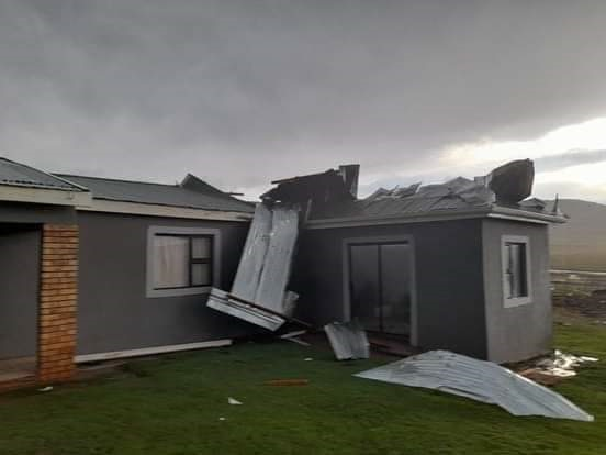 A severe storm or tornado has left a trail of destruction in Mthatha in the Eastern Cape. (SA Weather Service)