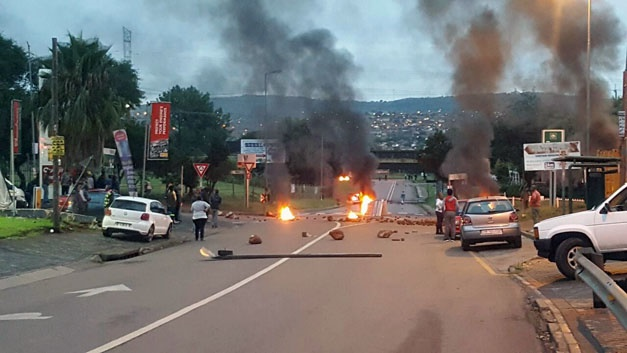 Protest action in Atteridgeville