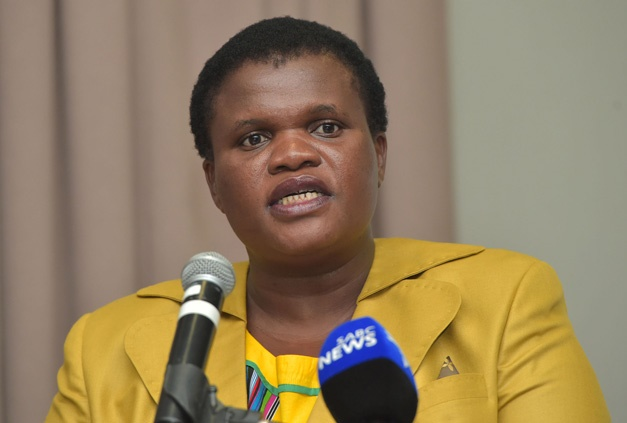 Chair of the portfolio committee MP Faith Muthambi (GCIS)