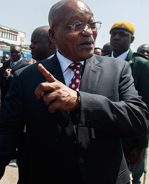 President Jacob Zuma (File: AFP)