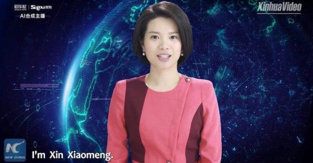 Hình ảnh chân thực của nữ MC nhân tạo đầu tiên trên thế giới - 1