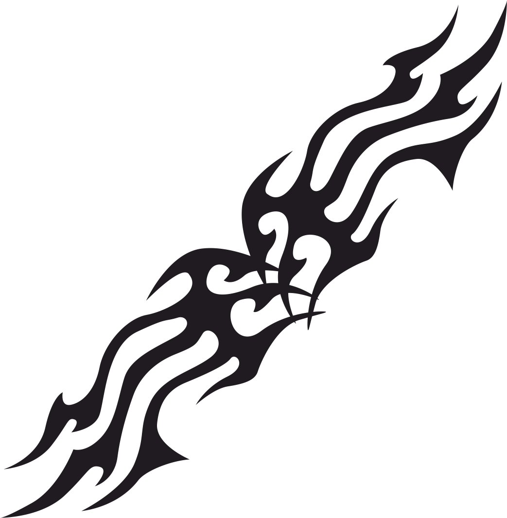 Tribal Flames Vector Free Vector Cdr Download