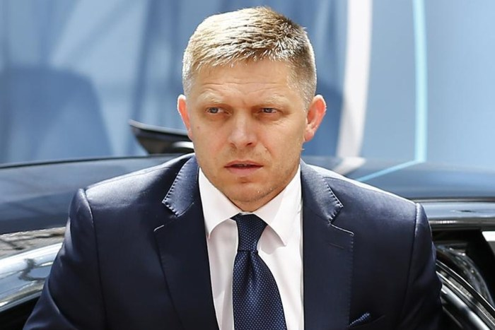 Slovakia's Prime Minister Robert Fico (Reuters)