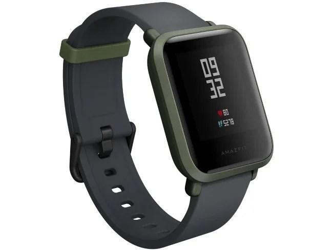 Smartwatch Amazfit Bip em verde