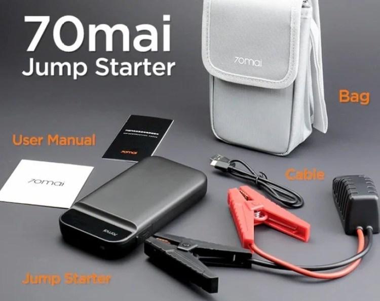 Xiaomi 70mai jump starter powerbank