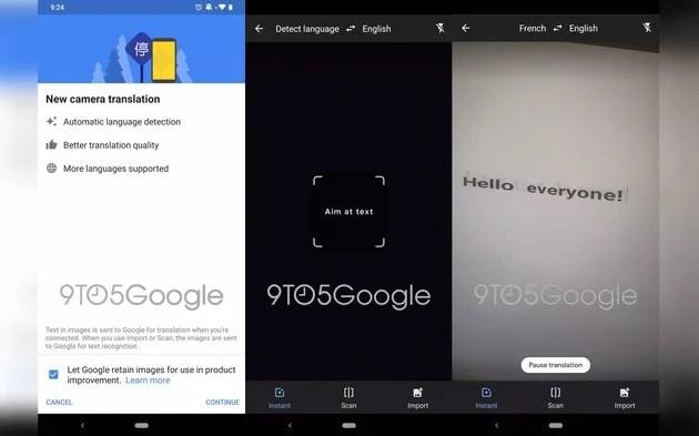 Google Tradutor Google Lens