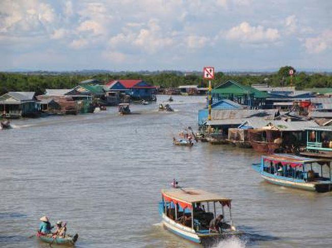 「カンボジア・シェムリアップ トンレサップ湖」の画像検索結果