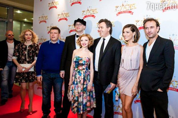 Подкаминская и Нагиев показали Москве «Кухню в Париже ...