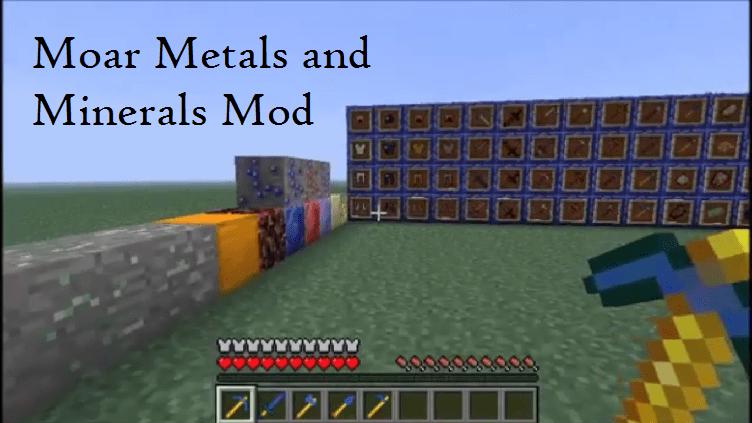 Moar Metals and Minerals Mod