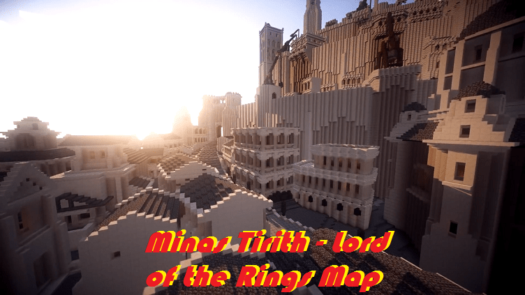 Download Minas Tirith - Lord of the Rings Map