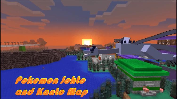 Download Pokemon Johto and Kanto Map
