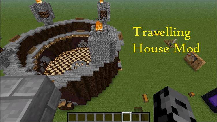 Travelling House Mod