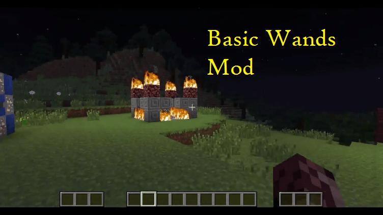 Basic Wands Mod