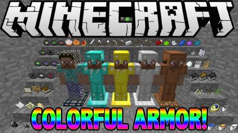 Colorful Armor Mod 1.10.2|1.8