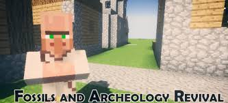 Fossil Archeology Revival Mod 1.8 1.6.4 (Variety of Dinosaurs)