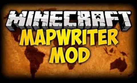 MapWriter Mod for MC 1.12.2|1.9|1.8.9|1.8.8