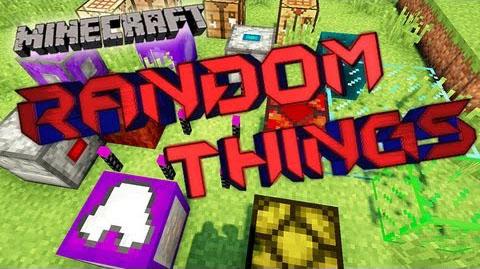 Random Things Mod 1.11.2 1.10.2 1.9.4