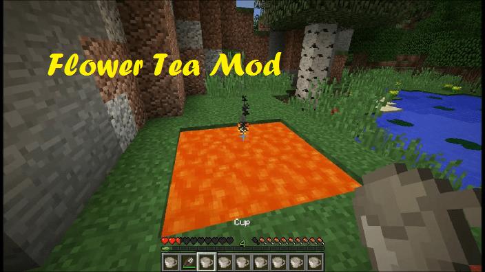 Flower Tea Mod