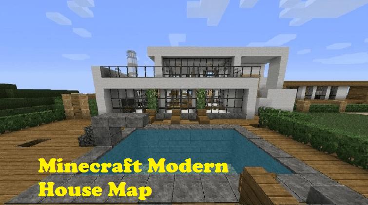 minecraft modern house map