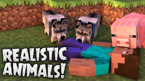 Hungry Animals Mod 1.10.2|1.8 - Realistic