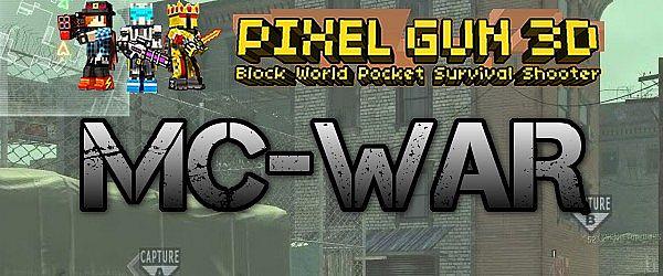 MC pixel gun 3d pack