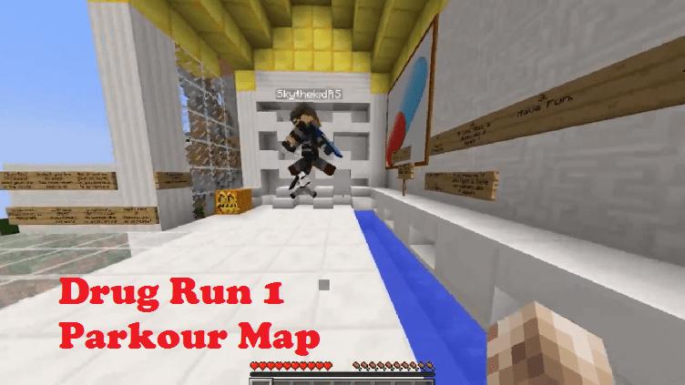 Download Drug Run 1 Parkour Map