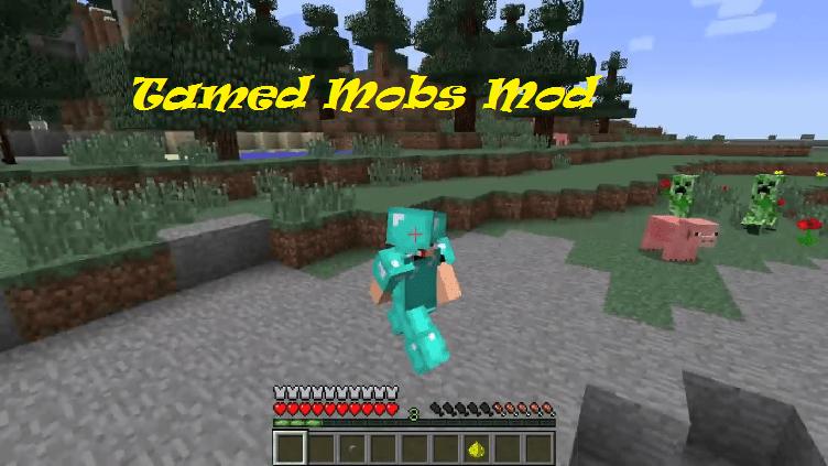 Tamed Mobs Mod