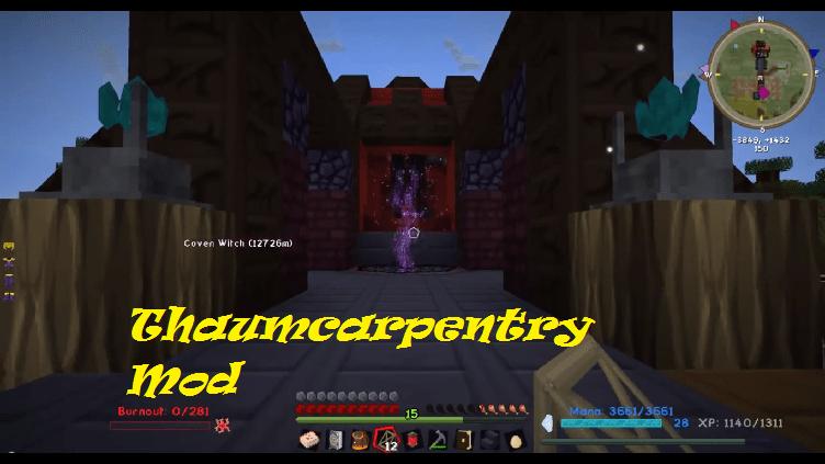 Thaumcarpentry Mod