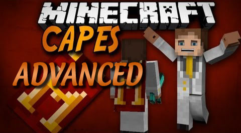 Advanced Capes Mod 1.11.2|1.10.2|1.8.9