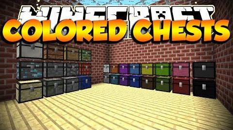 Chest Plus (Colored Chest) Mod
