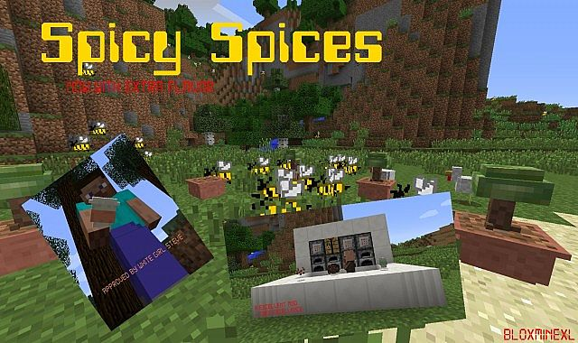 Spicy Spices Mod
