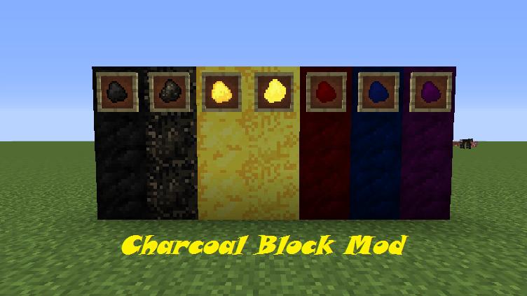 Charcoal Block Mod