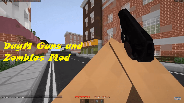 DayM Guns and Zombies Mod